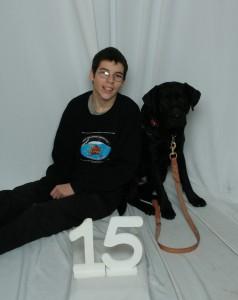 Elliot (15) and Cooper